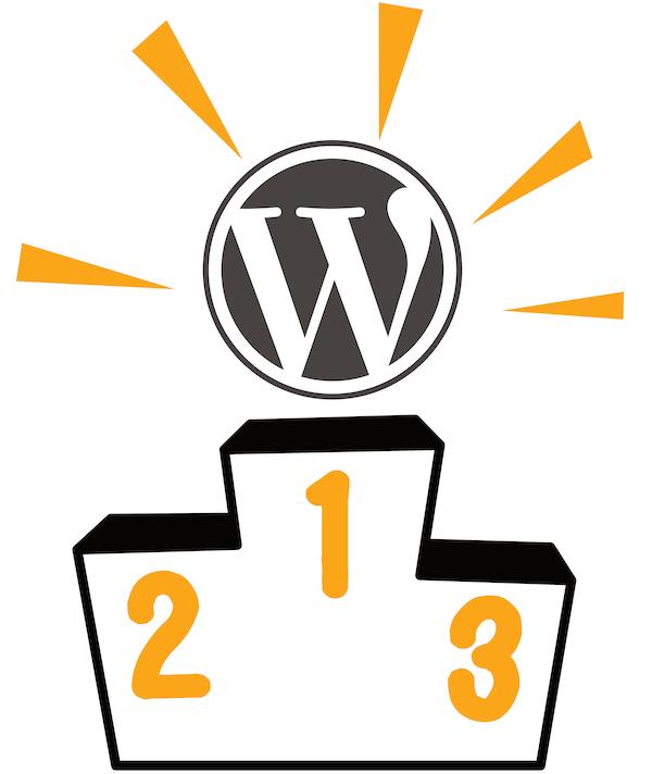 WordPressがNo1